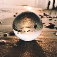 110mm Transparent K9 Clear Crystal Sphere Clear Magic Ball Photo Photography Glass Ball A Wonderful Gift For All Occasion