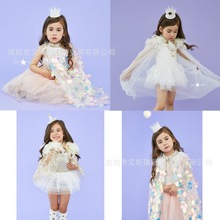 2019 kids clothes toddler girl jacket baby princess costume tutu fur coat outwears