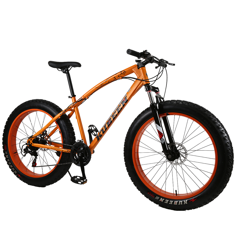 "KUBEEN Mountain Bike Aluminum Frame 21 Speed Shimano 26"" Wheel"