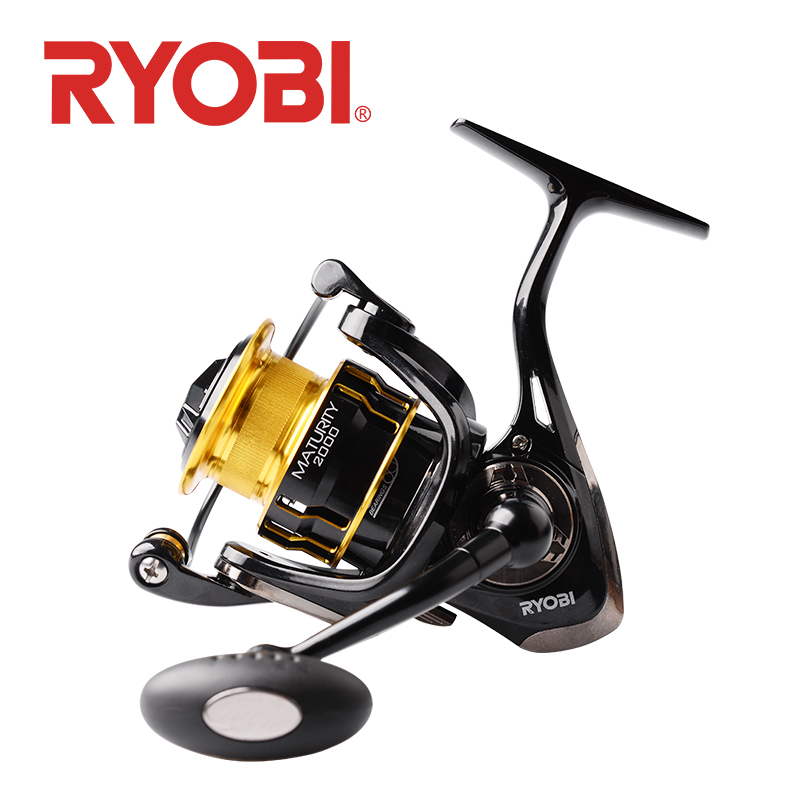 RYOBI MATURITY Fishing Reel Spinning 2000 3000 4000 6000 8000 Reel Fishing Pesca Carretilha Ryobi Reels Fishing Wheel Saltwater