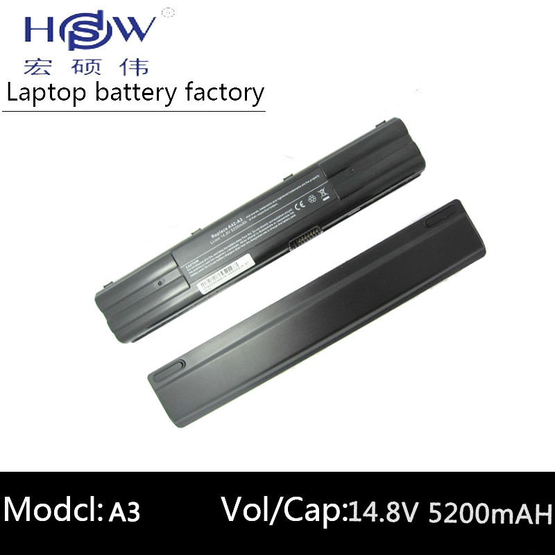HSW Replacement Laptop Battery for ASUS A42 A3 A41 A3 A41 A6 A42 A6 A6E battery for A6F A6G A6J A6Ja A6Jc A6Je A6Jm A6K battery