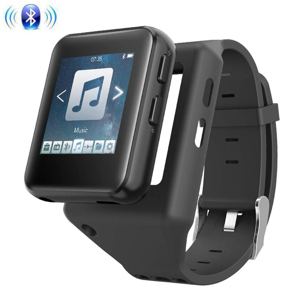 Mp3-Player Clip Touch-Screen Bluetooth Running Kids For Jogging-Supports FM Video-Stopwatch