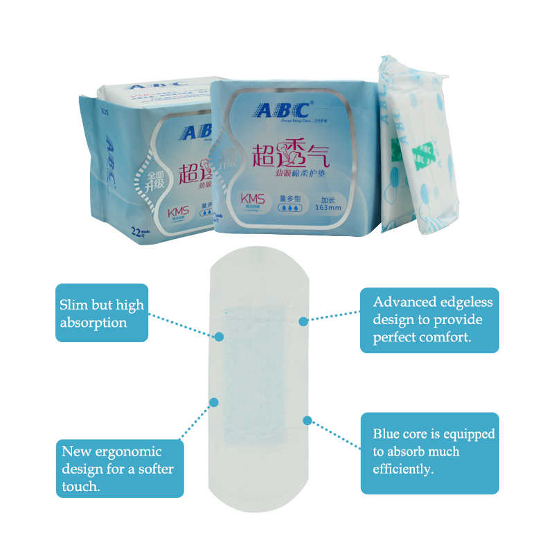 Abc の生理用ナプキンパンティライナー女性健康タンポンフェミニン衛生製品衛生月経パッド ABC 衛生パッド販売