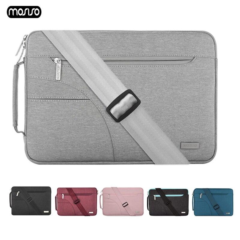 MOSISO Laptop Bag Case 11 12 13.3 14 15.6 Inch Waterproof Notebook For Macbook Air Pro 13 15 Sleeve Women Men Handbag