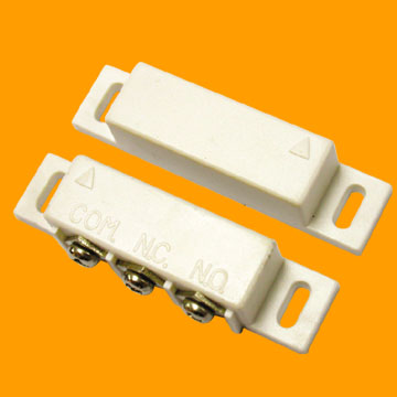 BS-31B 10Pcs 5pair Magnetic Reed Gap Switch NC NO Combined Door/Window Contact Sensor For Wireless Security Alarm System