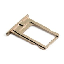 Wholesale 100pcs/lot New Original Metal Sim Card Tray Slot Holder connector For iPhone 5 5G black and silver color free shipping