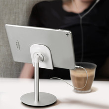 JXSFLYE Universal Aluminum Alloy  Desktop Mobile Phone Tablet PC holder Stand Bracket Rotating Holder for iphone xiaomi