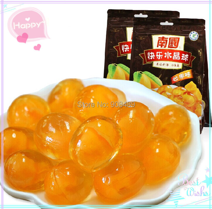 Mango Fruit jelly 400g (200g * 2 Package ) Hainan snacks fruit candy sugar sweet snack chinese on Aliexpress.com