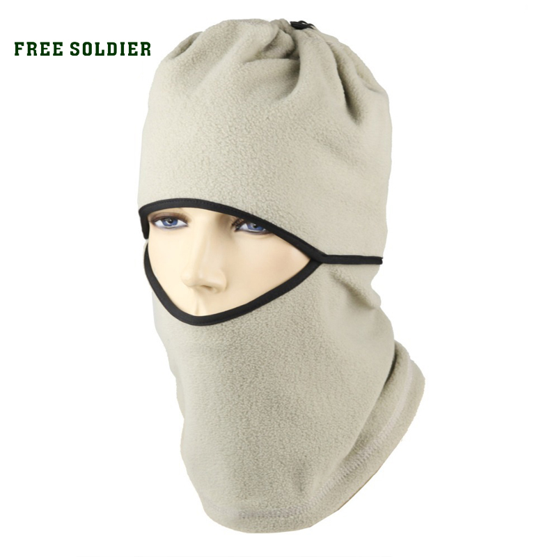 FREE SOLDIER cap outdoor wigs ride cap multifunctional thermal pocket hat cap face mask bomhcs women cat ear wool hat vintage brim bowler hat cap
