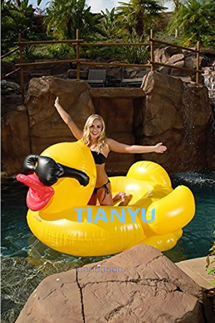 Hot Sale Summer Pool Toys 220cm 87inch Large Inflatable Yellow Duck ...