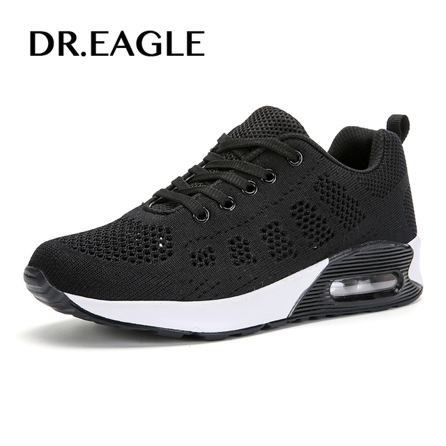 grossiste df6f9 32c1a US $26.87 44% OFF|DR.EAGLE Running shoes sneakers 2017 female shoes sports  woman basket femme Women Trail Running Shoes Lightweight Runner Sports-in  ...