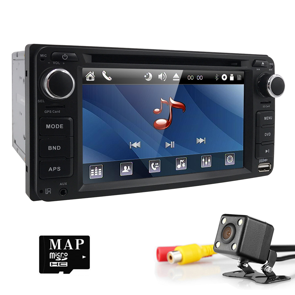 2 din Автомобильный Радио gps автомобильный dvd-плеер для Toyota Corolla Auris Fortuner Estima vios Innova gps навигация Автомобильный плеер авторадио CAM