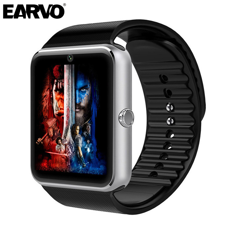 GT08 font b Smartwatch b font Smart Health Wearable Wach Clock Android Watch Phone Bluetooth Call
