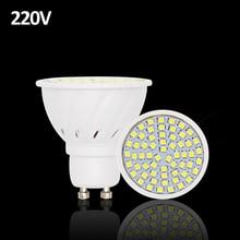 Lampada De LED Lamp GU10 220V SMD 2835 Ampoule LED Spotlight GU 10 Bombillas LED Bulbs Ampolletas Lampadas Lamparas Light Spot
