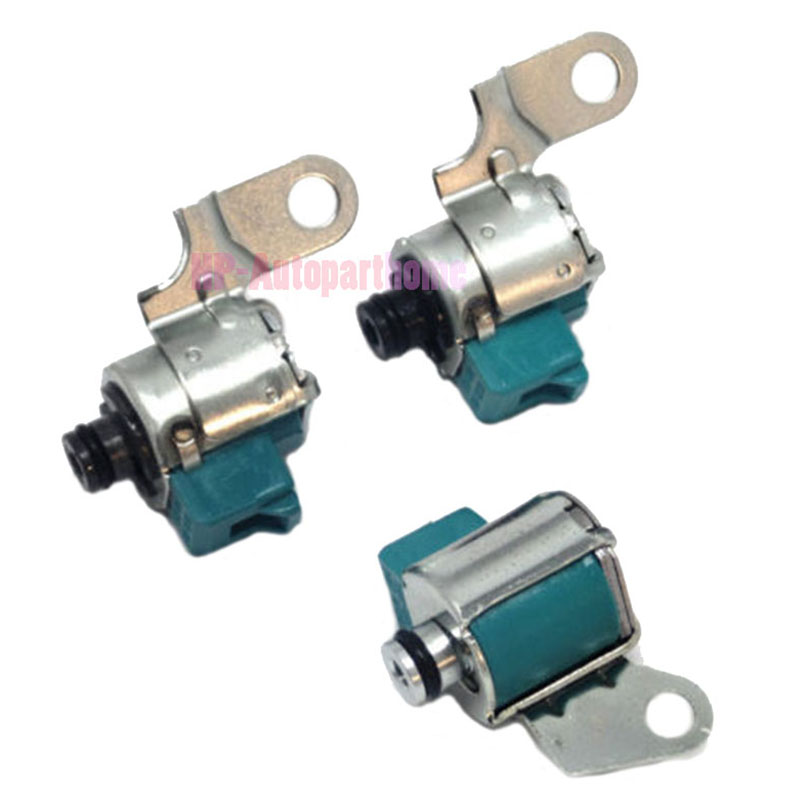 Original A340 AW4 TRANSMISSION SOLENOID KIT 3PC Shift TCC A340E A340F For Toyota Lexus