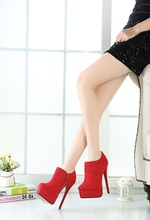 Plus Size Heels for Crossdresser & Shemales 16cm high
