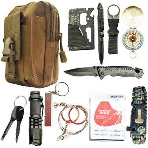 12 in 1 survival kit Set Outdo