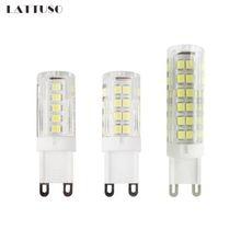 lattuso g9 led lamp 220v led bulb crysta 3w 5w 7w smd led light for chandelier spotlight replace halogen lamp