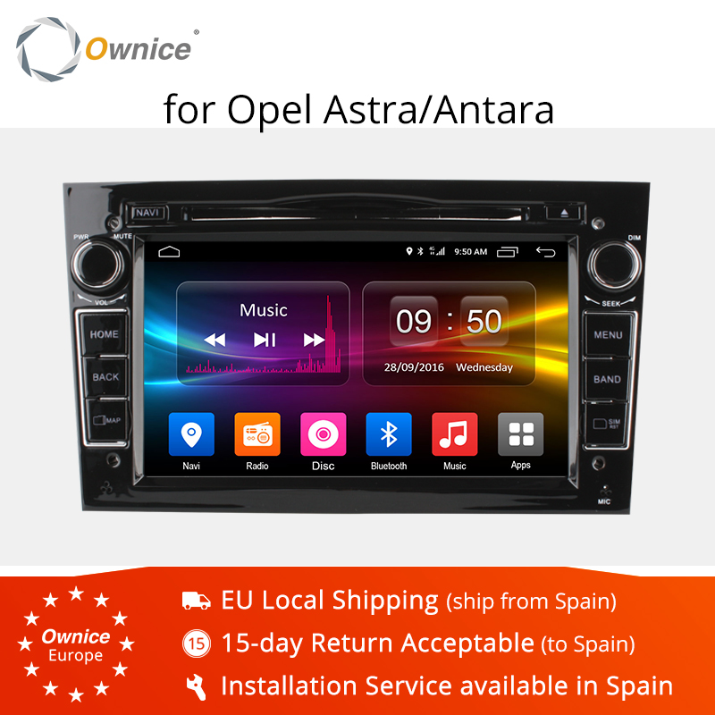 Ownice C500 Octa Core Android 6 0 Car DVD Player For Opel Astra H Vectra Corsa
