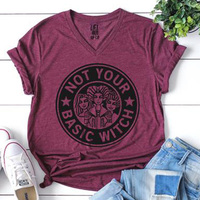 Крутая Базовая женская футболка на День Благодарения ведьмы с автомобилем, футболка с надписью «blessed tee mama bear», Лидер продаж, футболка