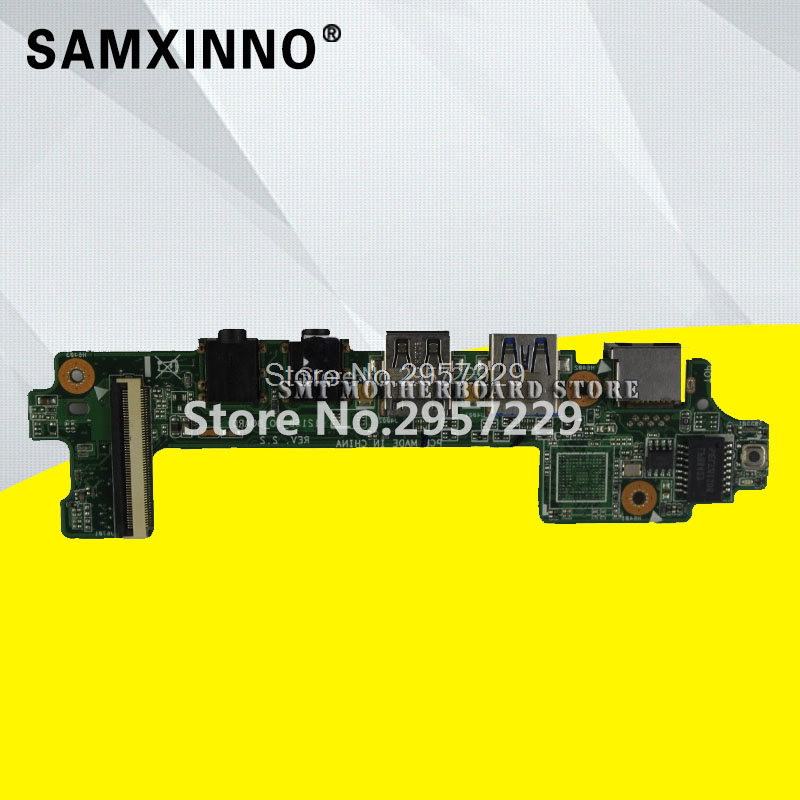 For ASUS 1215B 1215 1215N 1215P 1215N/VX6 Network Laptop Audio USB IO Board Sound Card Interface Board