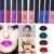 Lápiz de Labios Maquillage Batom Maquillaje Marca Lipgloss brillo de labios Líquida Lápiz Labial Negro Estera Impermeable Envío Libre