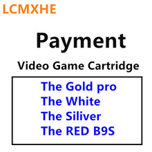 For Video Game Cartridge (The Gold pro, the White, The Siliver and RED B9S) Original