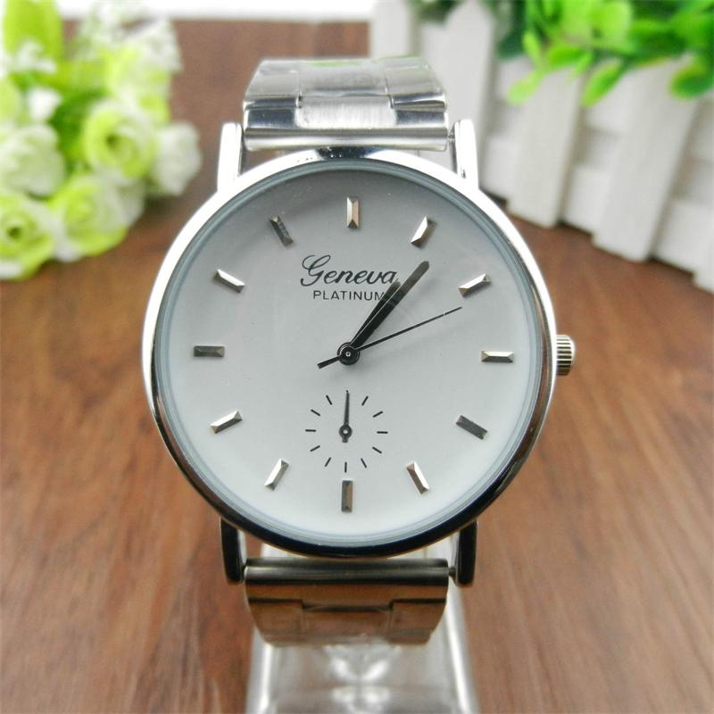 2017 Luxury Classic Geneva Roman Analog Quartz Stainless Steel Wrist Watch Hot Dropshipping Y7915* тонарм scheu analog scheu classic mkii 10
