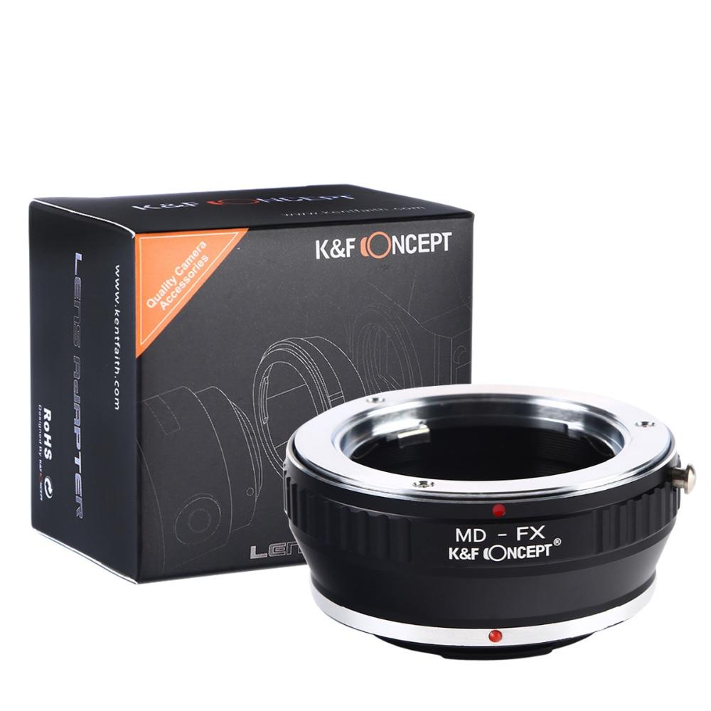 K&F CONCEPT MD-FX Lens Adapter Minolta MD Fujifilm Fuji X-Pro1 X Pro - Kamera və foto - Fotoqrafiya 2