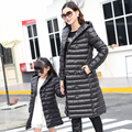 Mother And Daughter Clothes For Winter White Duck Down Black green family Matching Mother Daughter Clothes Jacket Coat