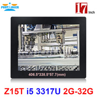 Partaker Elite Z15 17 Inch Panel PC Industrial With Made In China 5 Wire Resistive Touch
