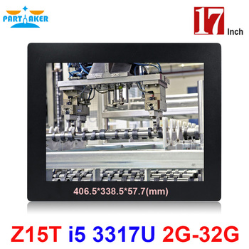 Partaker Elite Z15T 17 Inch Panel PC Industrial with Made-In-China 5 Wire Resistive Touch Screen Core i5 3317u partaker industrial touch panel pc with i7 4510u 4600u inch made in china 5 wire resistive touch screen 17 inch all in one pc