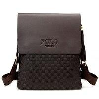 New Brand Designer Business Man S Small Messenger Bags Polo Fashion Male Single Shoulder Bag Diamond