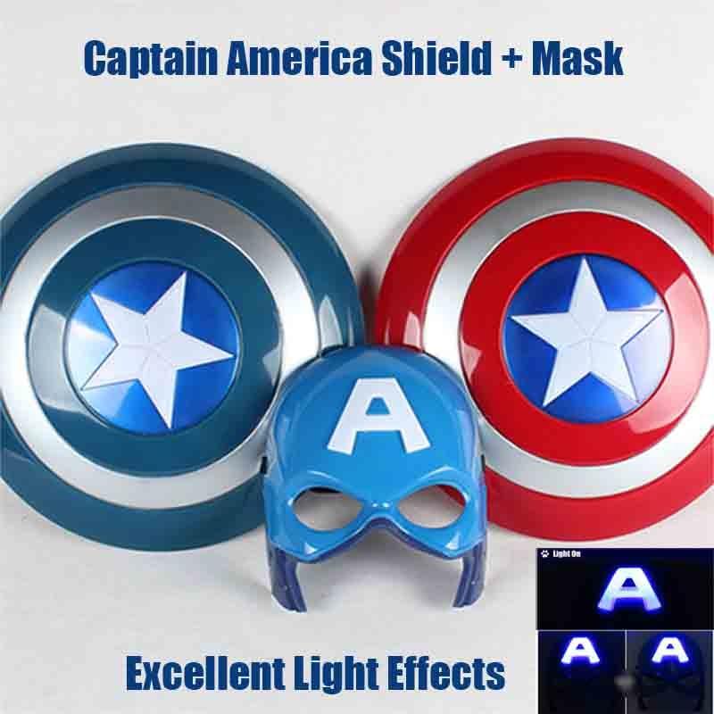 The Avengers Captain America Shield + mask kit will sound