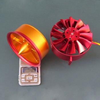 Горячая Распродажа, металлический вентилятор JP 105 мм, EDF 12 Blade 12s, литий полимерный электромотор для модели радиоуправляемого самолета