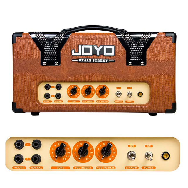 Cheap JOYO JCA-12  Beale Street Classic 1950's 12W vintage amplifier circuitry 2 high-gain channels with individual volume controls