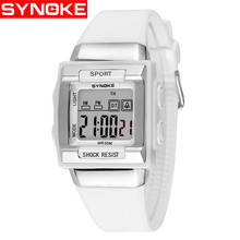 SYNOKE NEW Children's Watches Digital Watch electronic watch Multifunctional Boy And Girl Clock 50 Meters Waterproof Swimming цена