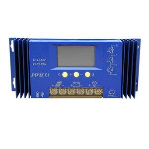 Image 4 - Ecoworld sistema solar de 600W, 6 uds., panel de energía solar mono de 100W, controlador de 60A y carga de cables rojo y negro de 5m para batería de 12V