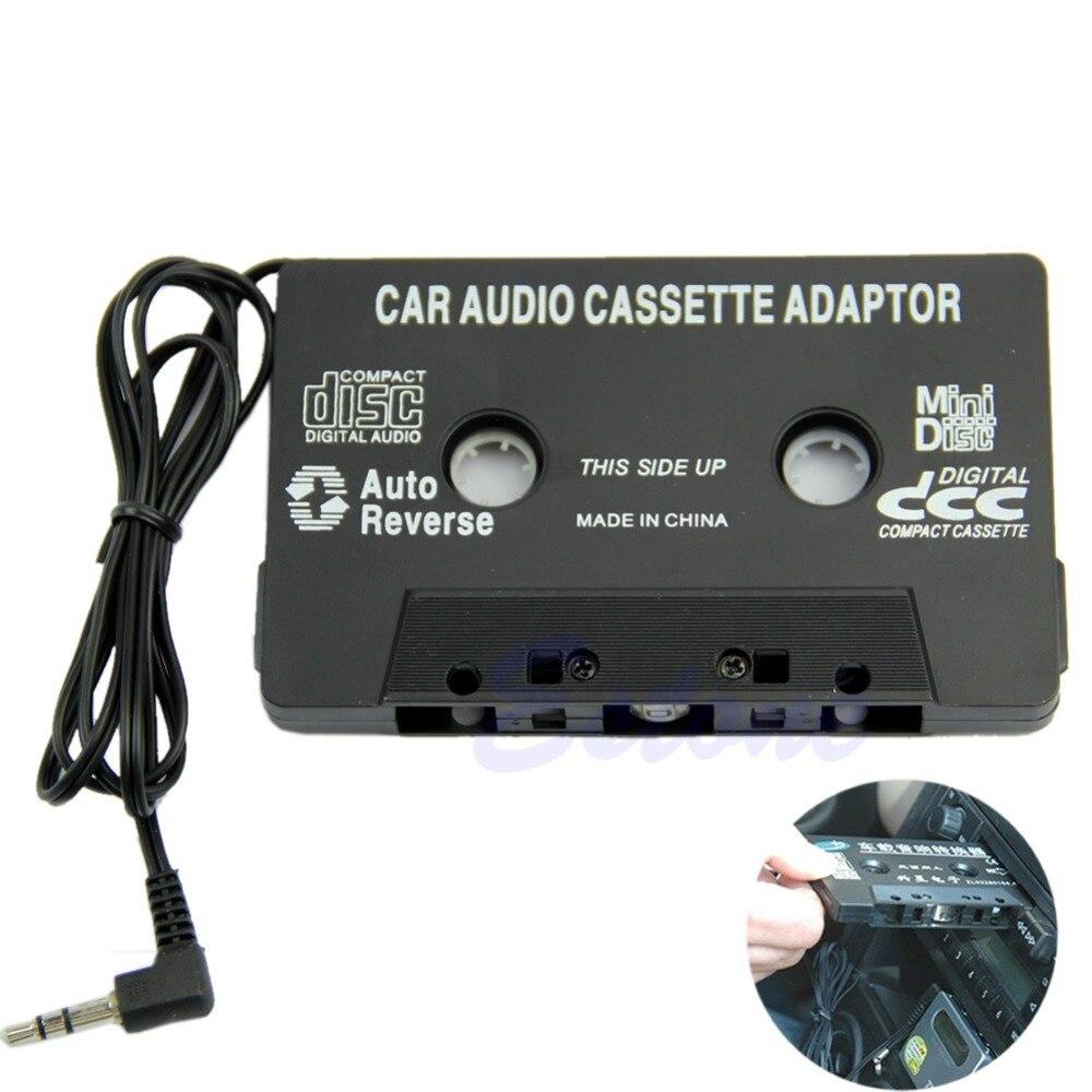 1 Stück Auto Band Audio Kassette Radio Adapter 3,5mm Aux Kabel Für Iphone Ipod Mp3 Cd Md Schwarz/ Weiß Extrem Effizient In Der WäRmeerhaltung Unterhaltungselektronik Cassette & Spieler