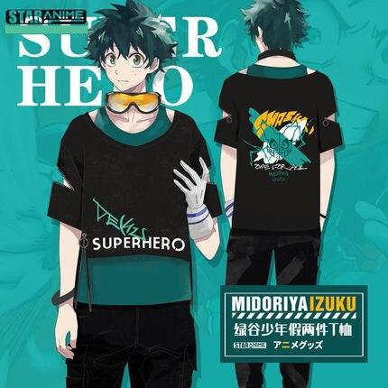 Meu herói academia midoriya izuku cosplay trajes boku nenhum herói academia algodão pulôver zíper camiseta moda hoodies jaquetas