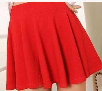Schöne Pop Frauen Büste Shorts Rock Hosen Gefaltet Plus Größe Art Und Weisesüßigkeitfarbe Röcke 8 Farben ZY4611