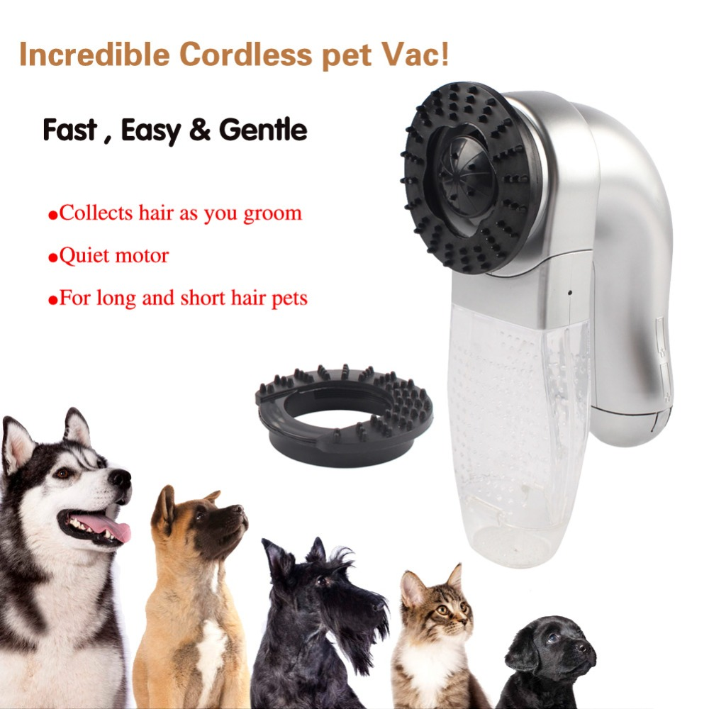 Dog Cat Vac Hair Remover Puppy Vacuum Cleaner Fur Shedding