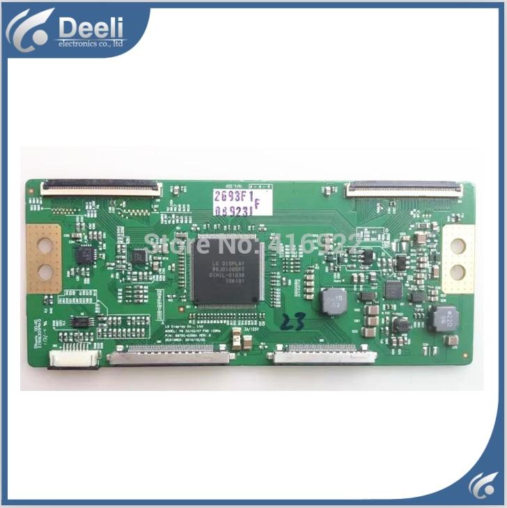 original for V6 37 FHD 120HZ 6870C-0365A 6870C-0365B logic board 6870c 0444a logic board t con for lc470due sfr1 lc550eun