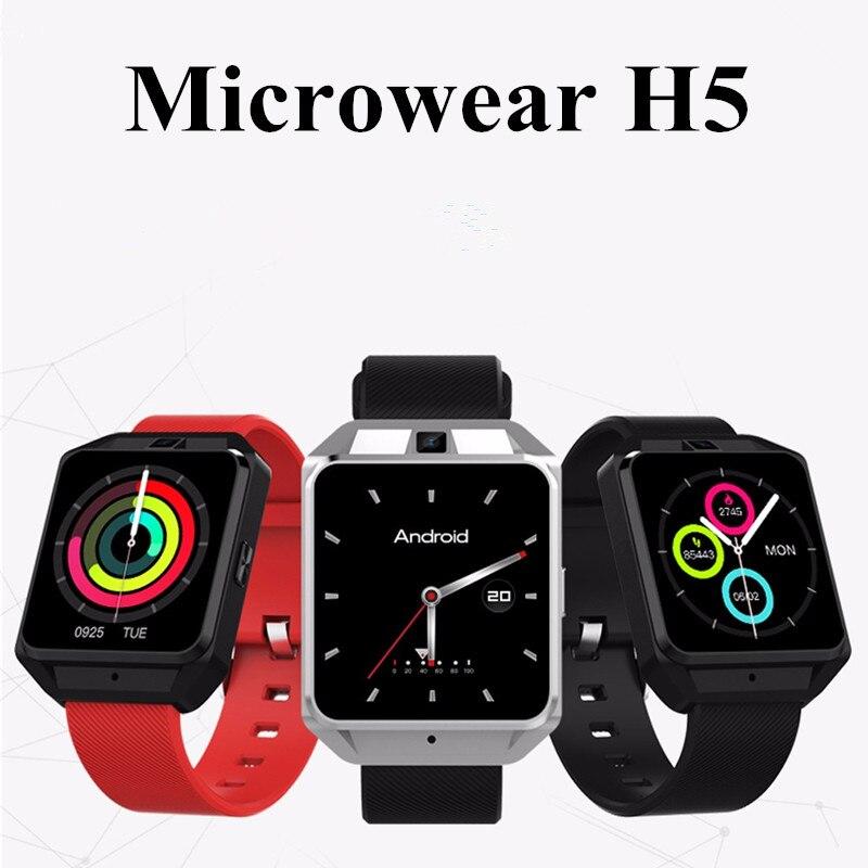 Microwear H5 4G Smartwatch Phone 1.54 inch MTK6737 Quad Core 1.1GHz 1G RAM 8G ROM GPS WiFi Heart Rate / Sleep Monitor 你好 法语4 学生用书 配cd rom光盘