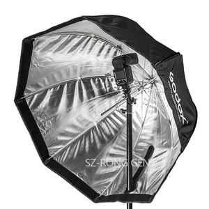 "Image 2 - Godox Octagon Softbox 80cm/31.5"" Inch Umbrella Reflector for Flash Speedlight"