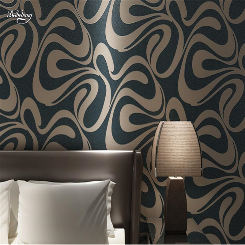 beibehang papel de parede wallpaper modern fashion luxury TV background wallpapers living room bedroom bedside background beibehang papel de parede luxury european damascus flocking non woven wallpapers living room dining room background wallpaper