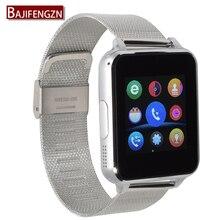Soporte de Tarjetas SD SIM Smartwatch Bluetooth Reloj Inteligente Para Android Teléfono Inteligente reloj PK GT08 Q18 Correas de cuero para los teléfonos Samsung