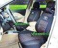 (Frente + Traseira) Universal Tampa de Assento Para TOYOTA Corolla Camry Rav4 Prius Avensis Yaris Auris Carro-Cobre Material de seda + Frete Grátis