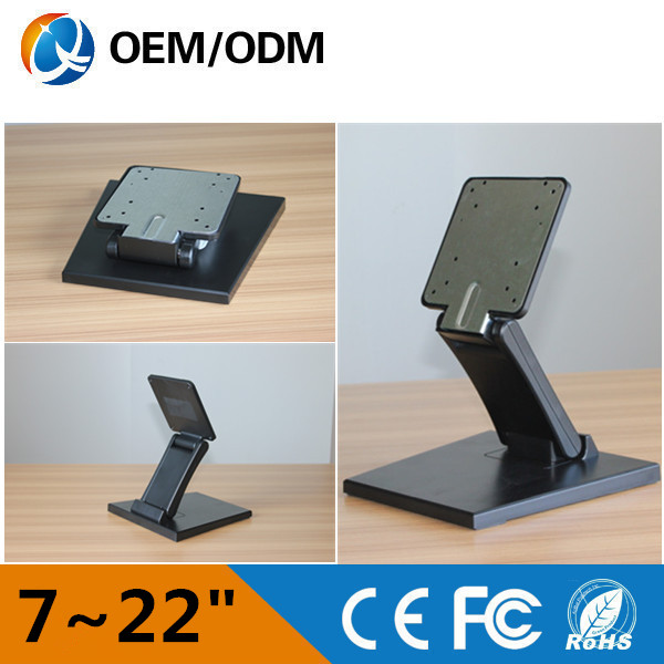 Professional VESA TV Stand with 10inch to 22inch monitor/display/pos computer/ all in one pc cheapest price stand for lcd monitor or computer all in one pc