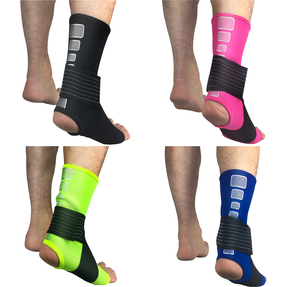 Basketball Football Protective Gear Sports Ankle Sleeve Bandage Pressure Ankle SPSLF0040